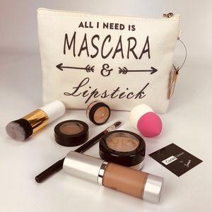 Handbags - 💥NEW💥 Mascara & Lipstick Cosmetic Pouch